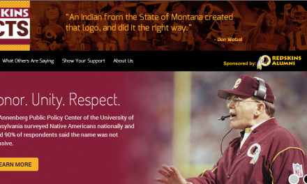 Redskins Launch Website In Attempt To Clarify Mission
