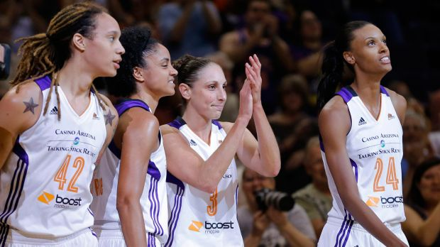 Phoenix Mercury Stretching Streak