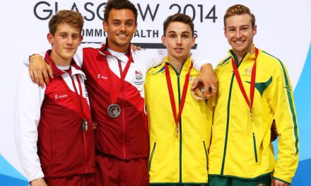 Tom Daley and Matthew Mitcham Take Home Commonwealth Golds