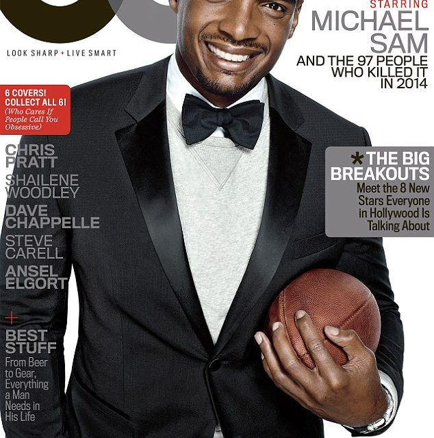 Congratulations Michael Sam for being a GQ Man of the Year