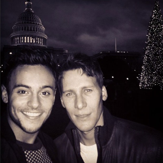 CONTEST: Win a double-date with Tom Daley and Dustin Lance Black from Omaze London