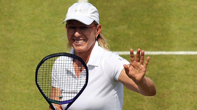Martina Navratilova becoming a tennis super-coach