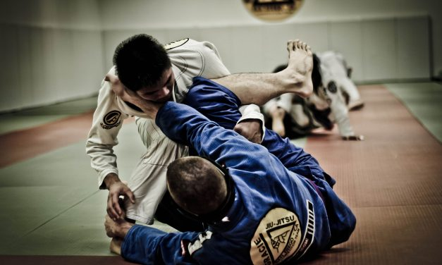 Rolling with the best: Ishigaki ju-jitsu club