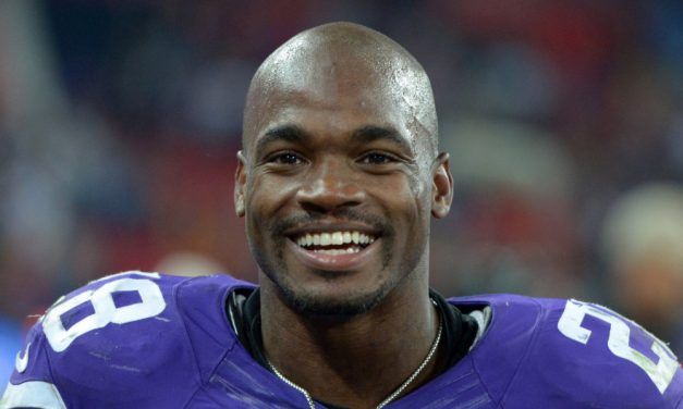 Adrian Peterson considering a shot at the Olympics
