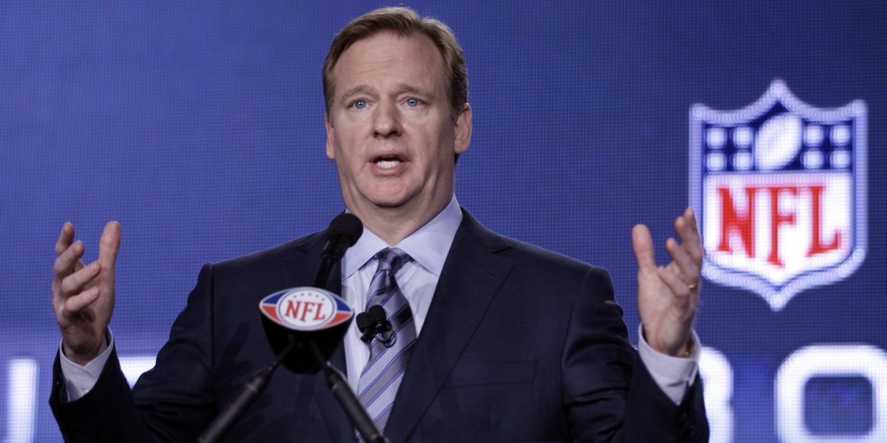 "NFL's Roger Goodell to the world: ""I blew it."""