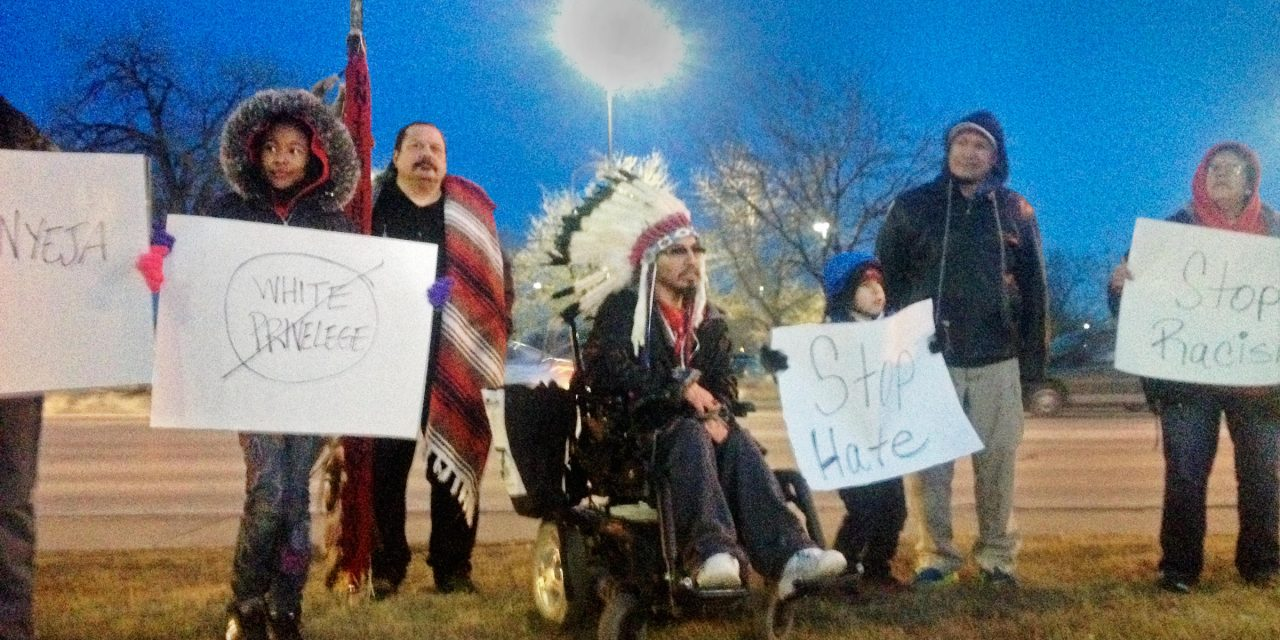 Native American children abused at sporting event