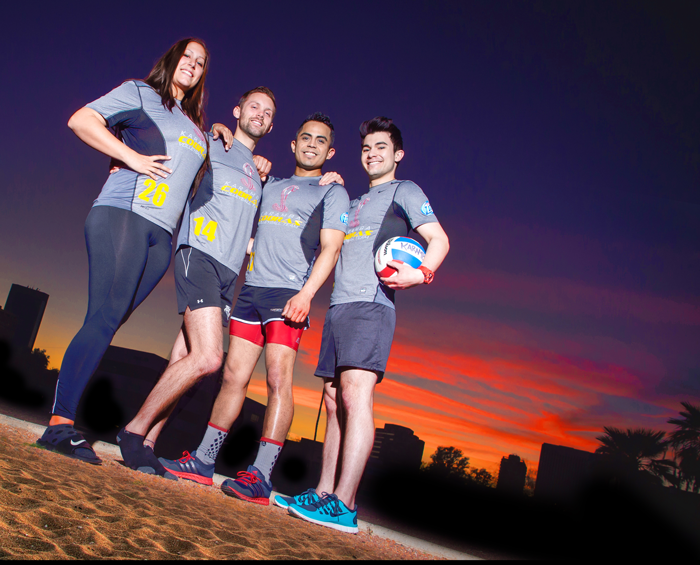 AZ Gay Volleyball Presents Sets on the Sand