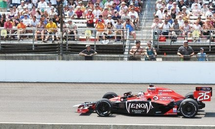 The 99th running of the Indianapolis 500