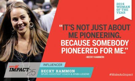 Trailblazer Becky Hammon first female head coach for Spurs' summer league team