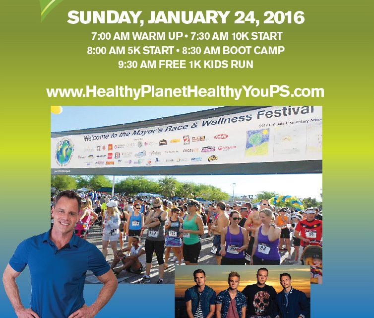 5th Annual Mayor's Healthy Planet Healthy you Race and Wellness Festival