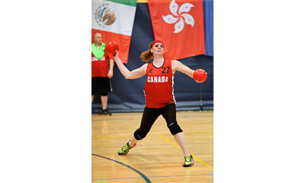Transgender Athlete Savannah Burton Represents Canada at World Dodgeball Championship