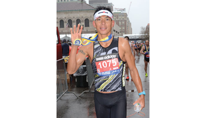 Trent Taylor: Born to Run … The Boston Marathon