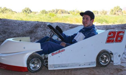 Go-Kart Racer Derek Archer