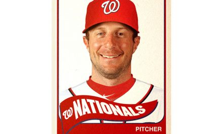 Nationals' Max Scherzer ties MLB record of 20 strikeouts