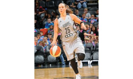 Becky Hammon has Stars jersey retired