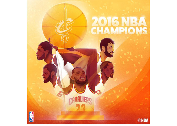 Cleveland Cavaliers win NBA Finals in Game 7