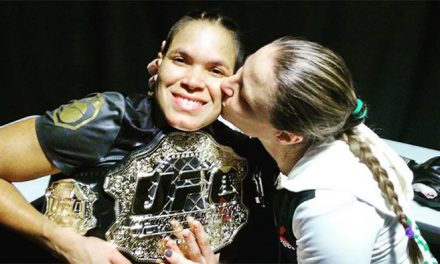 Amanda Nunes is UFC's first openly gay champ
