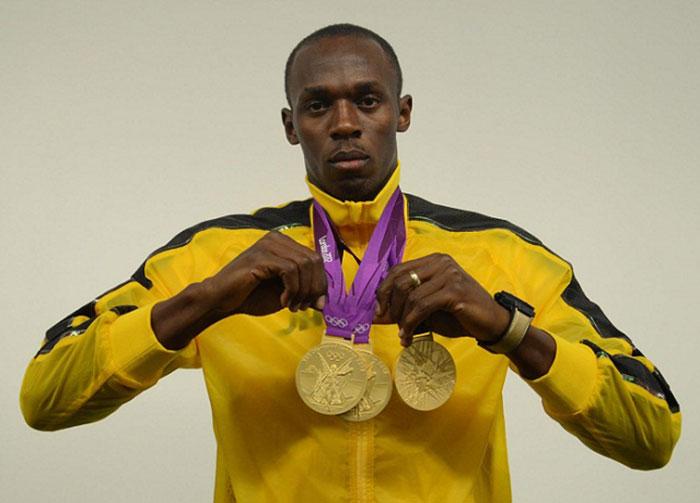 Sprinter Usain Bolt has hamstring tear