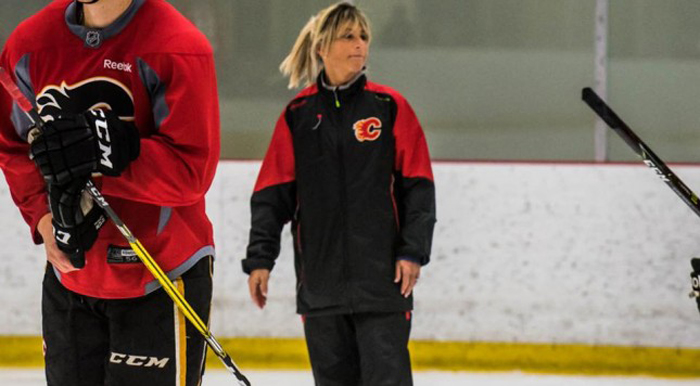 First full-time female coach hired by NHL's Arizona Coyotes