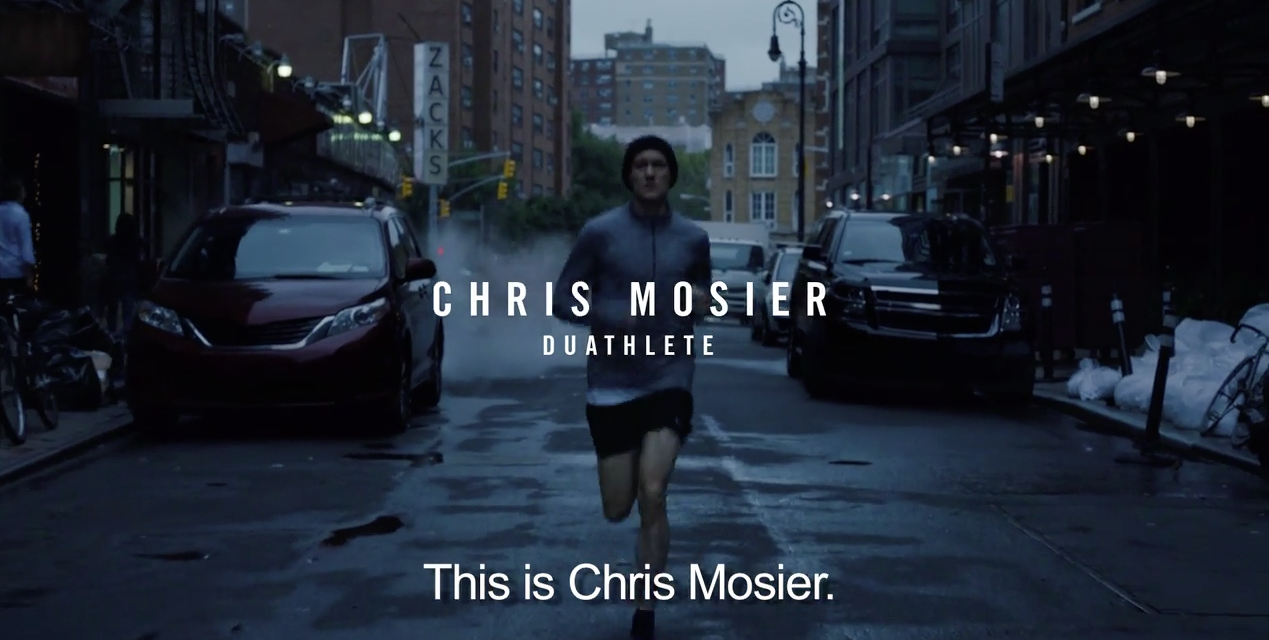 """Chris Mosier's """"Unlimited Courage"""" featured in Nike ad"""