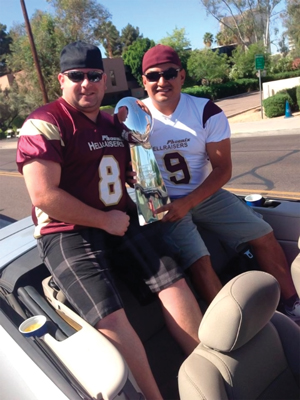 Pictured Shawn Rea (left) and Jared Garduno (right)