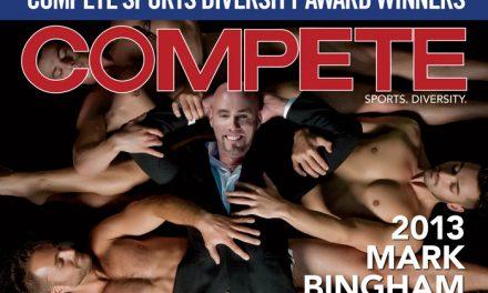 Chris Mosier, Magic Johnson, Tom Whitman, Robbie Rogers, Jason Collins December 2013 #tbt