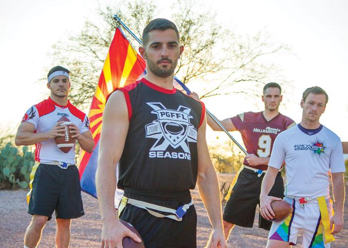 Phoenix Gay Flag Football League Turns the Big 10