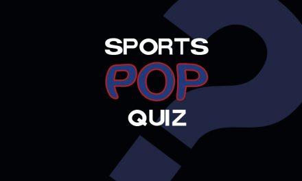 Sports Pop Quiz