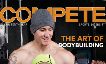 The Art of Bodybuilding! Check Out Compete February 2017 #tbt