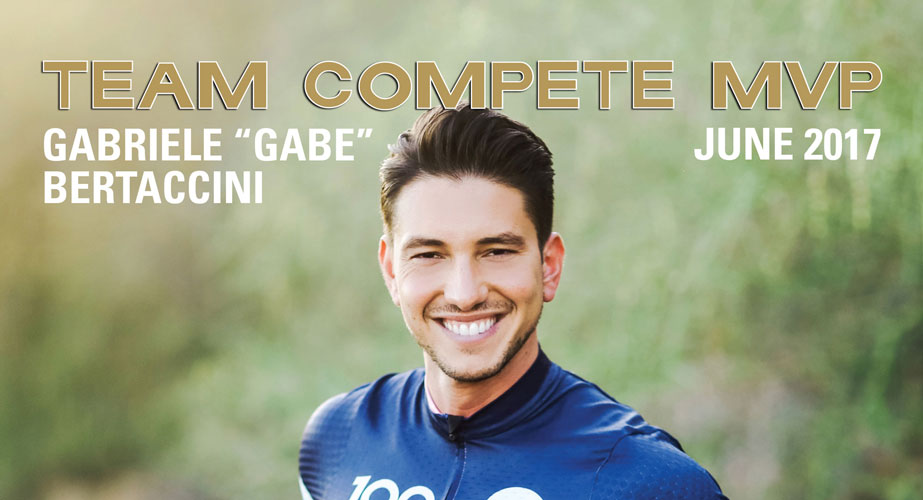 June 2017 Cover Athlete and MVP – AIDS/LifeCycle