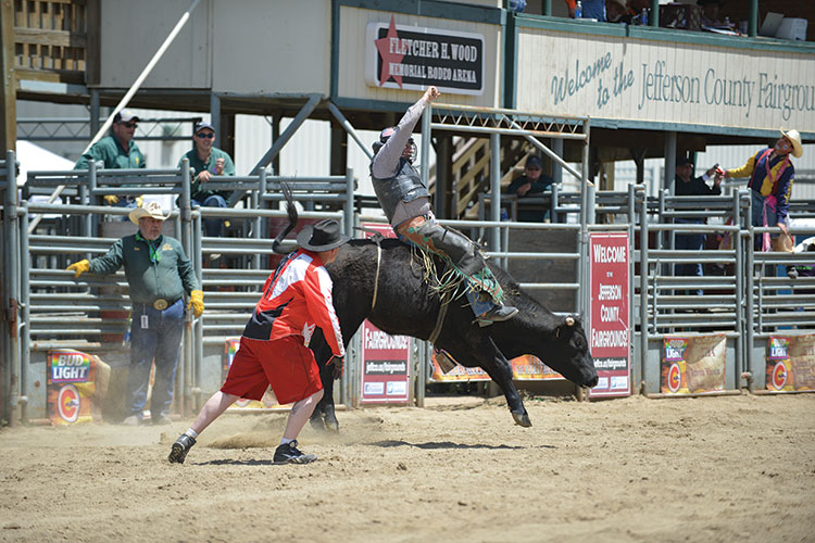 Colorado Rides with Pride at the Rocky Mountain Regional Rodeo
