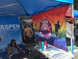 At Pridefest one year, our organization offered to share the booth with other local LGBTQ+ Sports organizations to encourage more local organizations to get back involved with PRIDE.