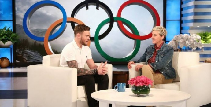 Photo courtesy of Gus Kenworthy's Official Facebook Page