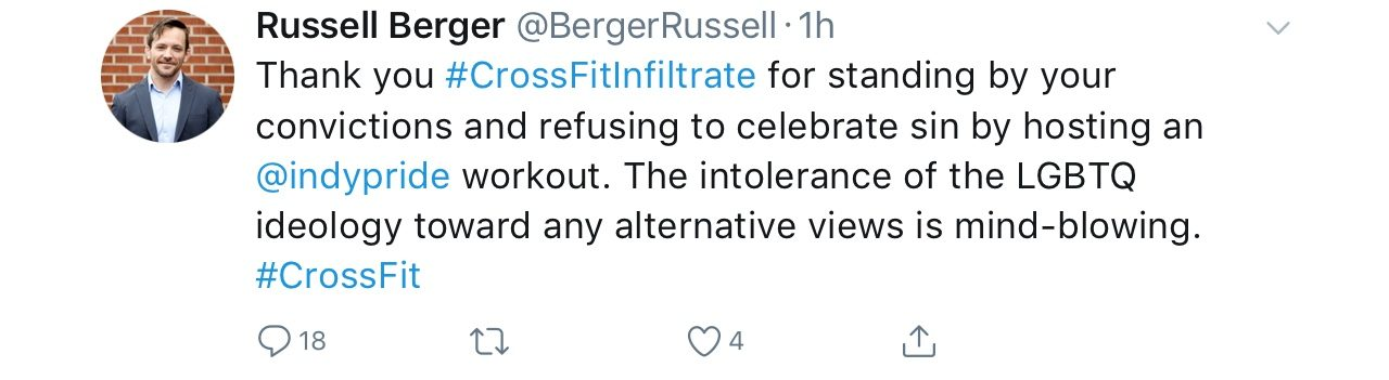 Is Crossfit Declaring Itself as Anti-LGBTQ for Pride Month?