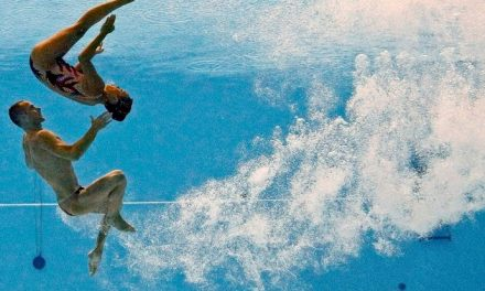 A Man's Touch to Synchronized Swimming and Rhythmic Gymnastics