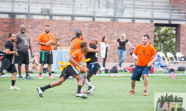 LA Flag Football Comes Home with Pride Bowl Championship Trophy, Looks forward to 2018 Gay Bowl