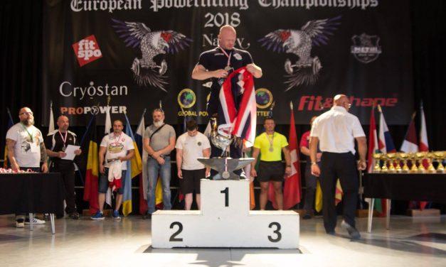 Gay Games Ambassador Chris Morgan Wins European Championship Gold in Nancy, France
