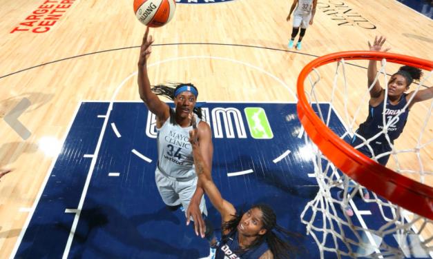 Take a Seat, Take a Stand with the WNBA