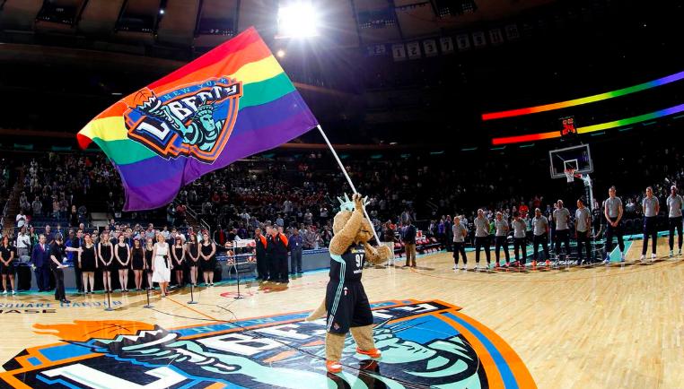 WNBA Showing its PRIDE!