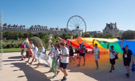 Quadrennial Gay Games Rainbow Run meets Paris