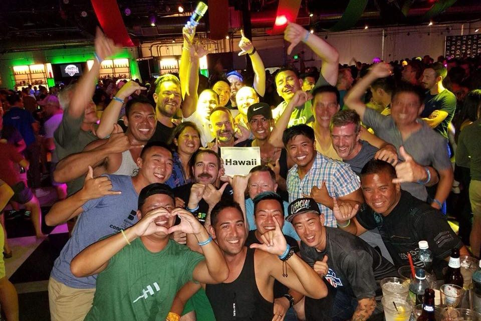 Ho'omaika'i 'ana Hawaii for Winning 2020 Gay Bowl Bid!