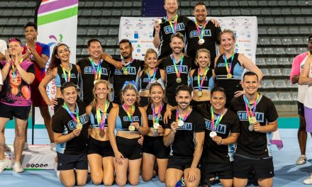 Cheer LA Brings Home the Gay Games Bling