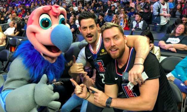 "LANCE BASS ATTENDS ALL FIVE HOME GAMES IN LOS ANGELES ON 10/28 AS PART OF FIRST-EVER ""SUPER SPORTS EQUINOX"""