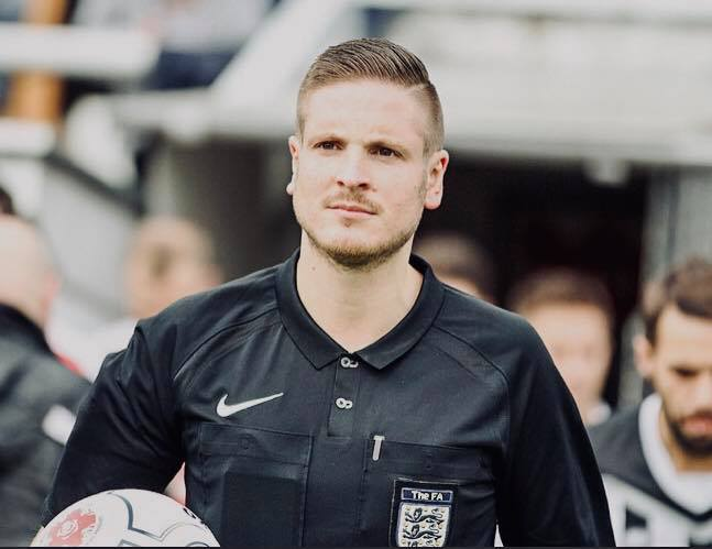 Professional Referee, Ryan Atkin, Talks About Coming Out, Joining the IGFLA Board and His Experiences as English Football's First Openly Gay Referee