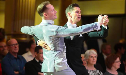 First Ever Same Sex Dancing Pair Takes the Floor at British National Dancing Championships