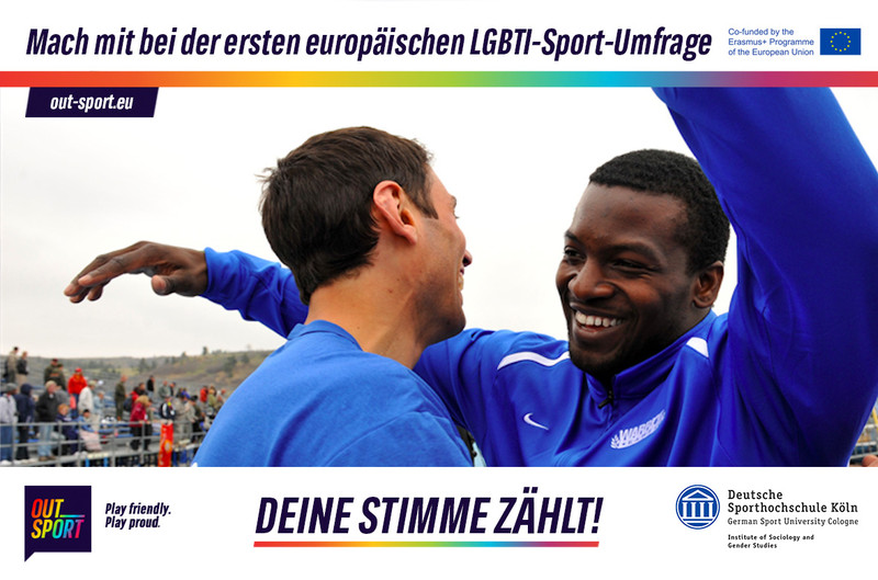 Homophobia in Sports? Yes! First Results of the EU-wide Study on Experiences of LGBTI People in Sport