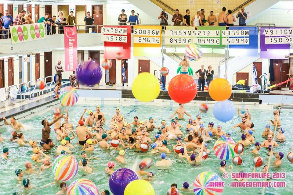 Brussels Gay Sports Honors World AIDS Day with Swim For Life