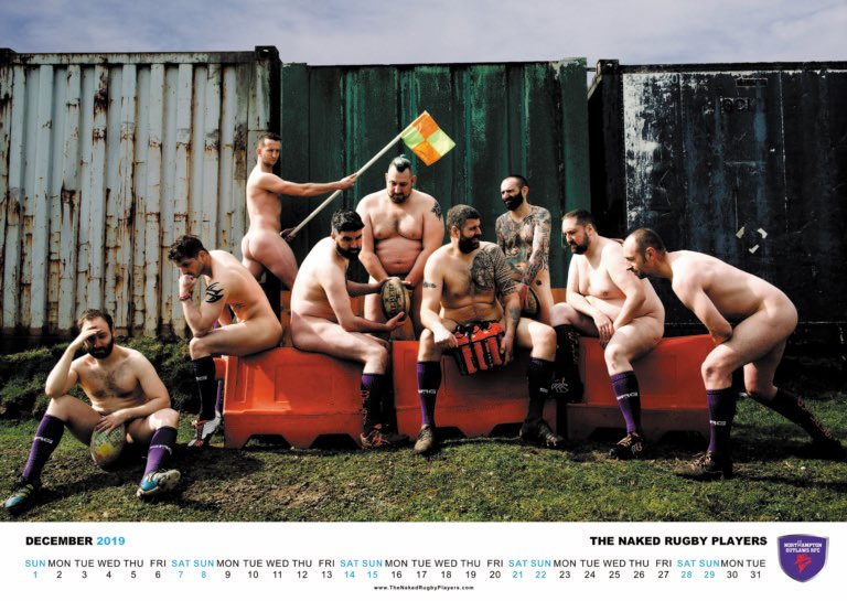 """The Naked Rugby Players, Calendar for LGBTI Charities is banned from Facebook for Non-Existent """"Sexual Activity"""""""