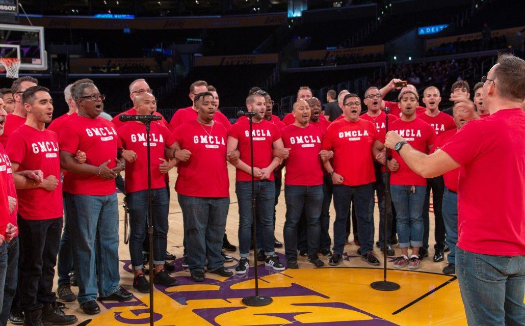 LA and Boston Gay Men's Chorus Placing Bets on the Big Game
