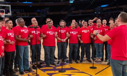 LA and Boston Gay Men's Chorus Placing Bets on the Big Game